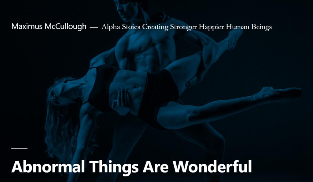 abnormal things are wonderful
