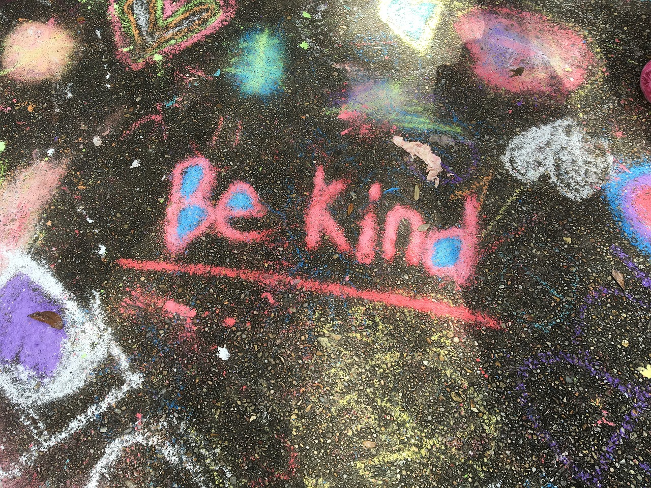 It takes a stronger person to be kind, be kind.